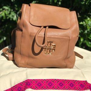 Tory burch🍁🍂Royal Tan women's Backpack